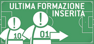 Ultima formazione inserita